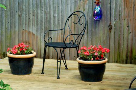 Backyard Corner Deck