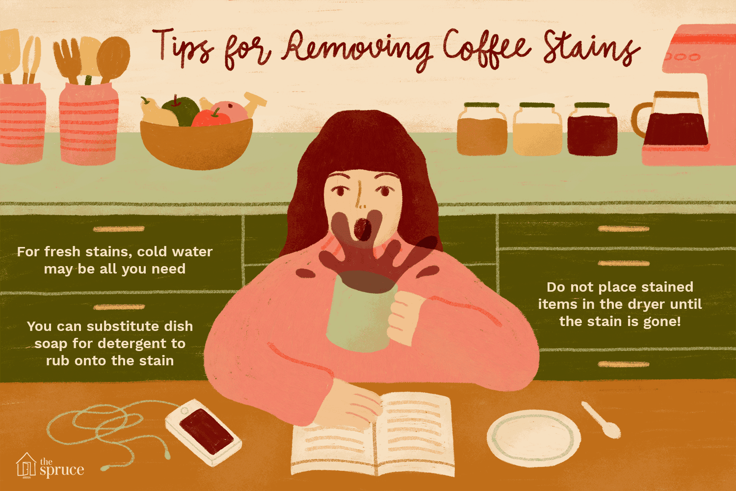 How To Remove Coffee Stains >> How To Remove Coffee Stains From Clothing
