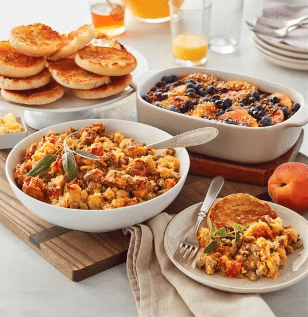 Sweet and Savory Brunch