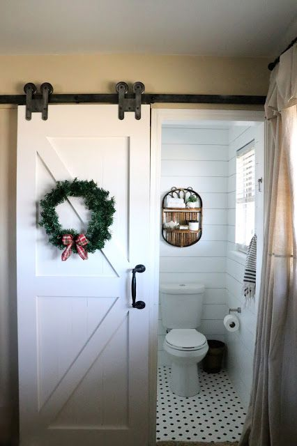 farm doors for a toilet