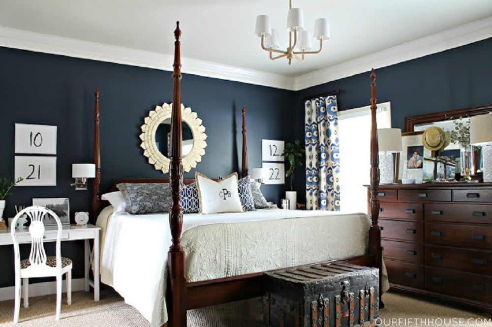 dark blue bedroom walls. Dark Blue Bedroom Walls O