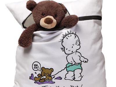 Using A Bath Bag For Stuffed Animals