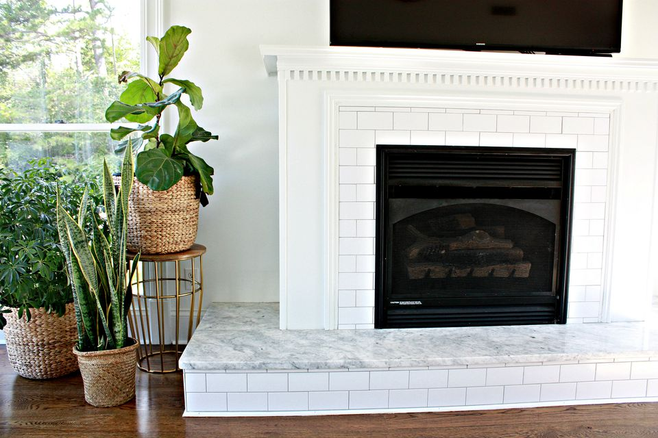 Favorite 25 Beautifully Tiled Fireplaces YM36