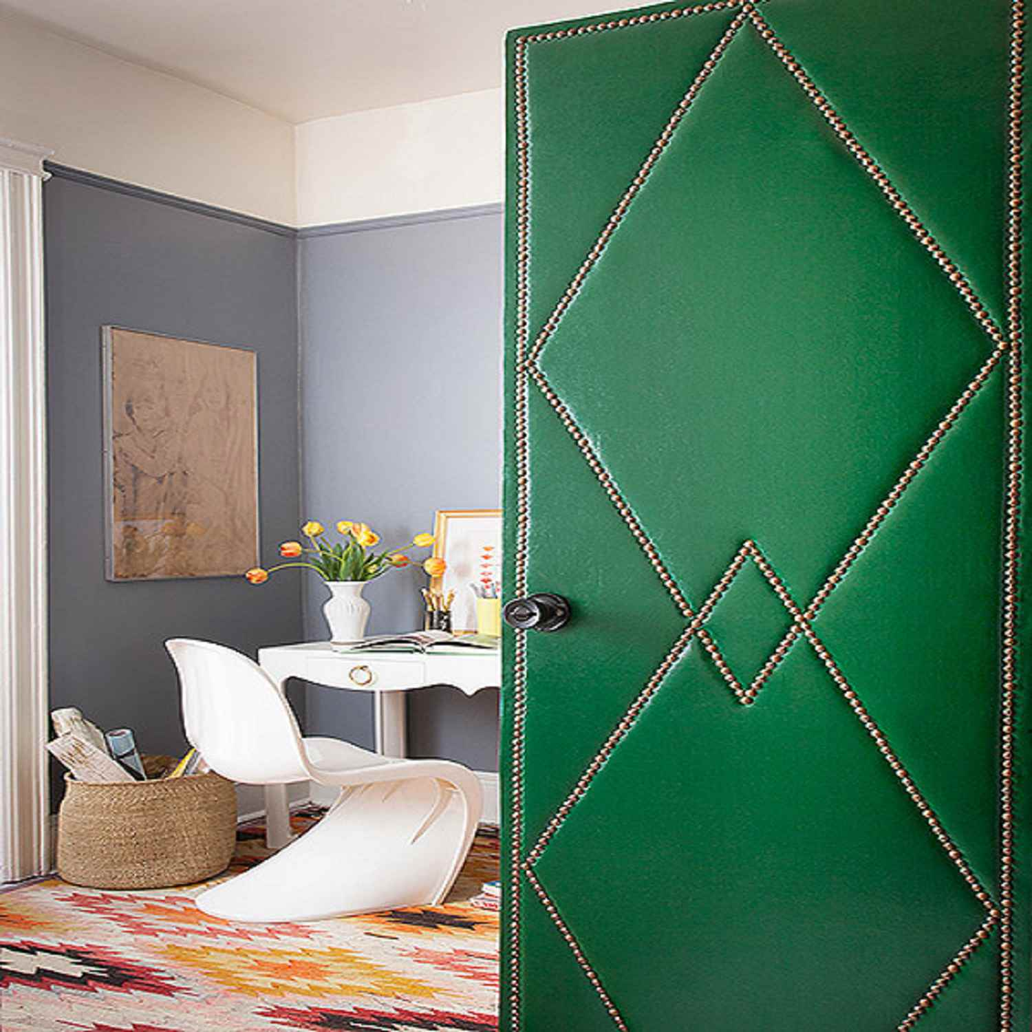 Easy Diy Ways To Decorate Closet Doors