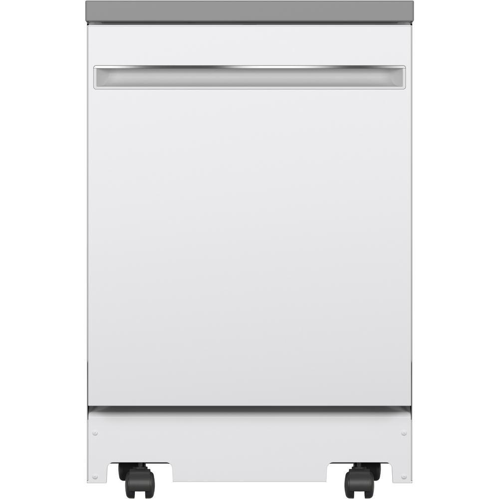 GE GPT225SGLWW 24-inch Portable Dishwasher