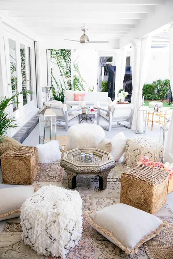 Chic outdoor space