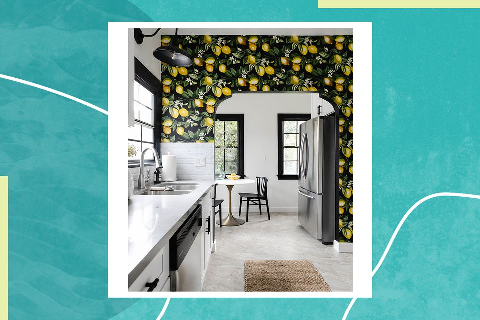 Drew Scott's kitchen and dining area in his LA townhome