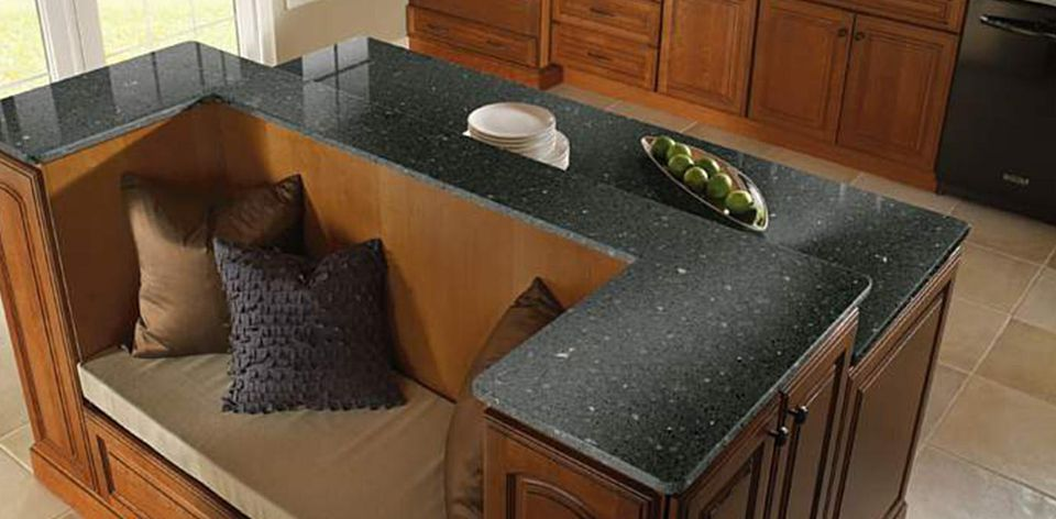 Zodiaq Licorice Countertop