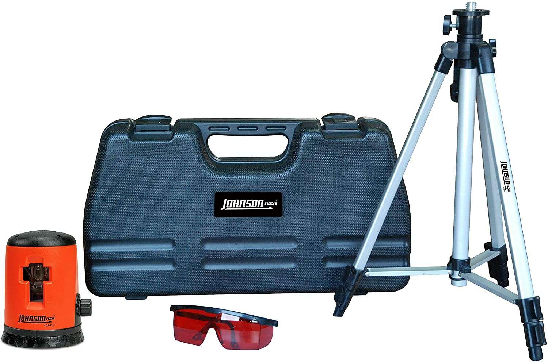Self-Leveling Cross Line Laser Level Kit