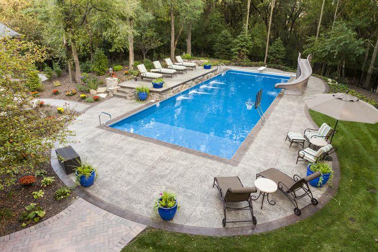 Backyard Deck Ideas with Pool