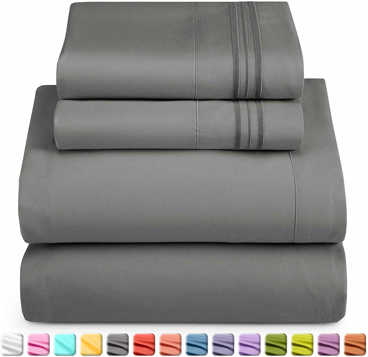 Nestl Bedding Queen Size Bed Sheets Set