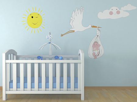 coloring a baby s room feng shui colors