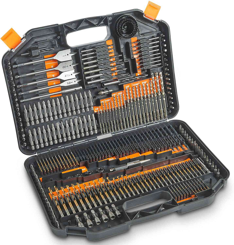246-Piece Drill Bit Set
