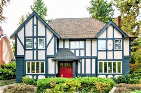 Tudor House Exterior Color