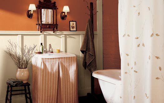 Diseños de pintura de baño