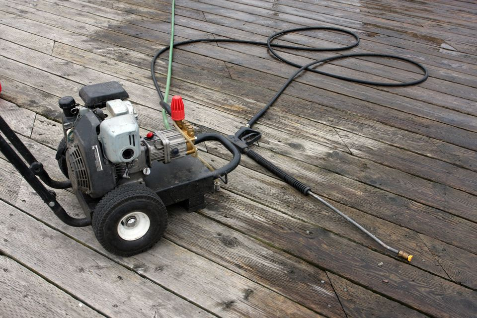 How To Power Wash A Wood Deck