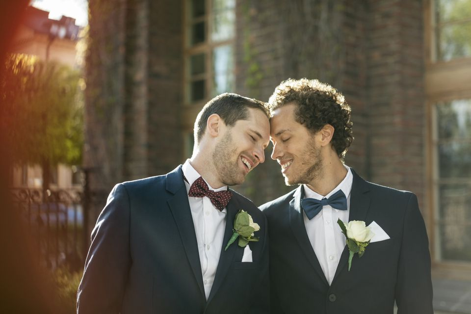 Same-sex newlyweds