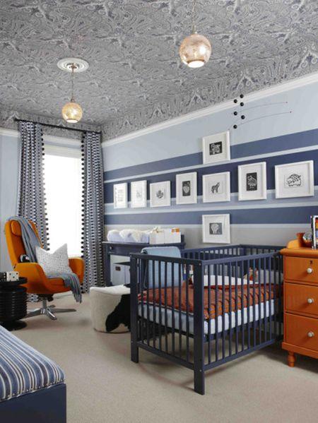 10 Ideas For Navy Nurseries
