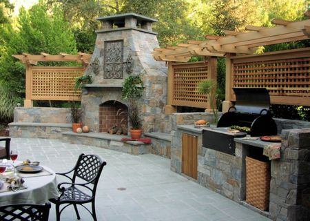 Enjoyable 50 Enviable Outdoor Kitchens For Every Yard Download Free Architecture Designs Scobabritishbridgeorg