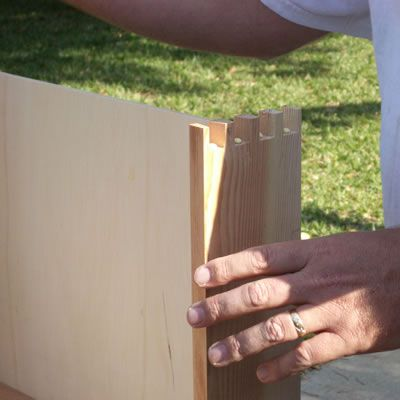 Inserting the Drawer Bottom