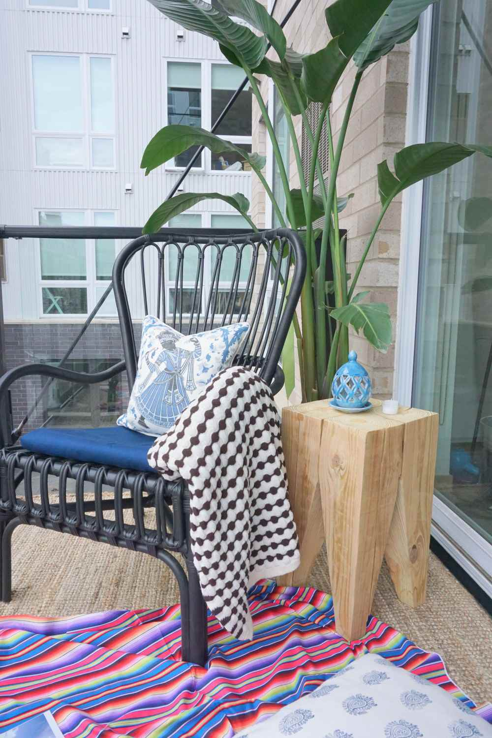 DIY Outdoor Timber Side Table