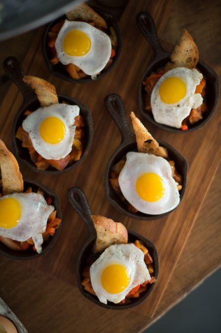 Miniature breakfast skillet