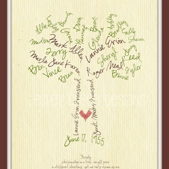Creative Family Trees to Buy or DIY
