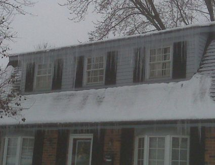 How To Prevent Ice Dams With Insulation Baffles