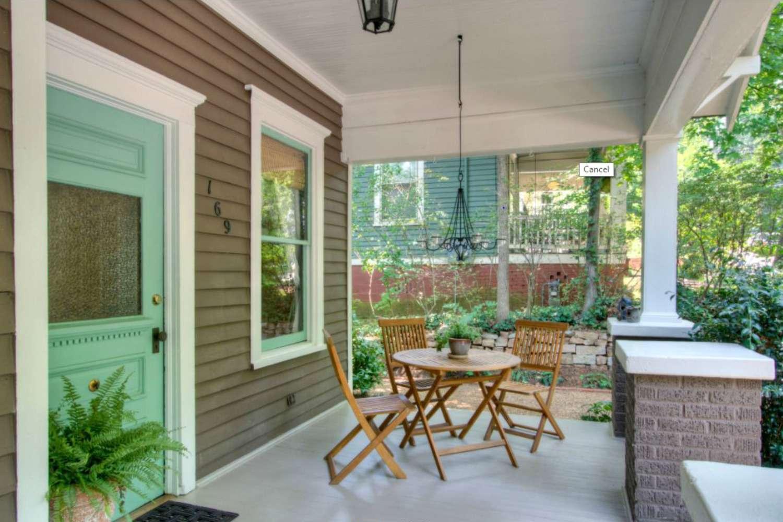porche de bungalow