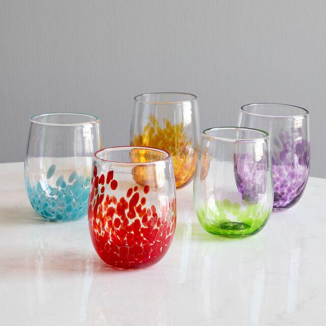Birthstone Wine Glass