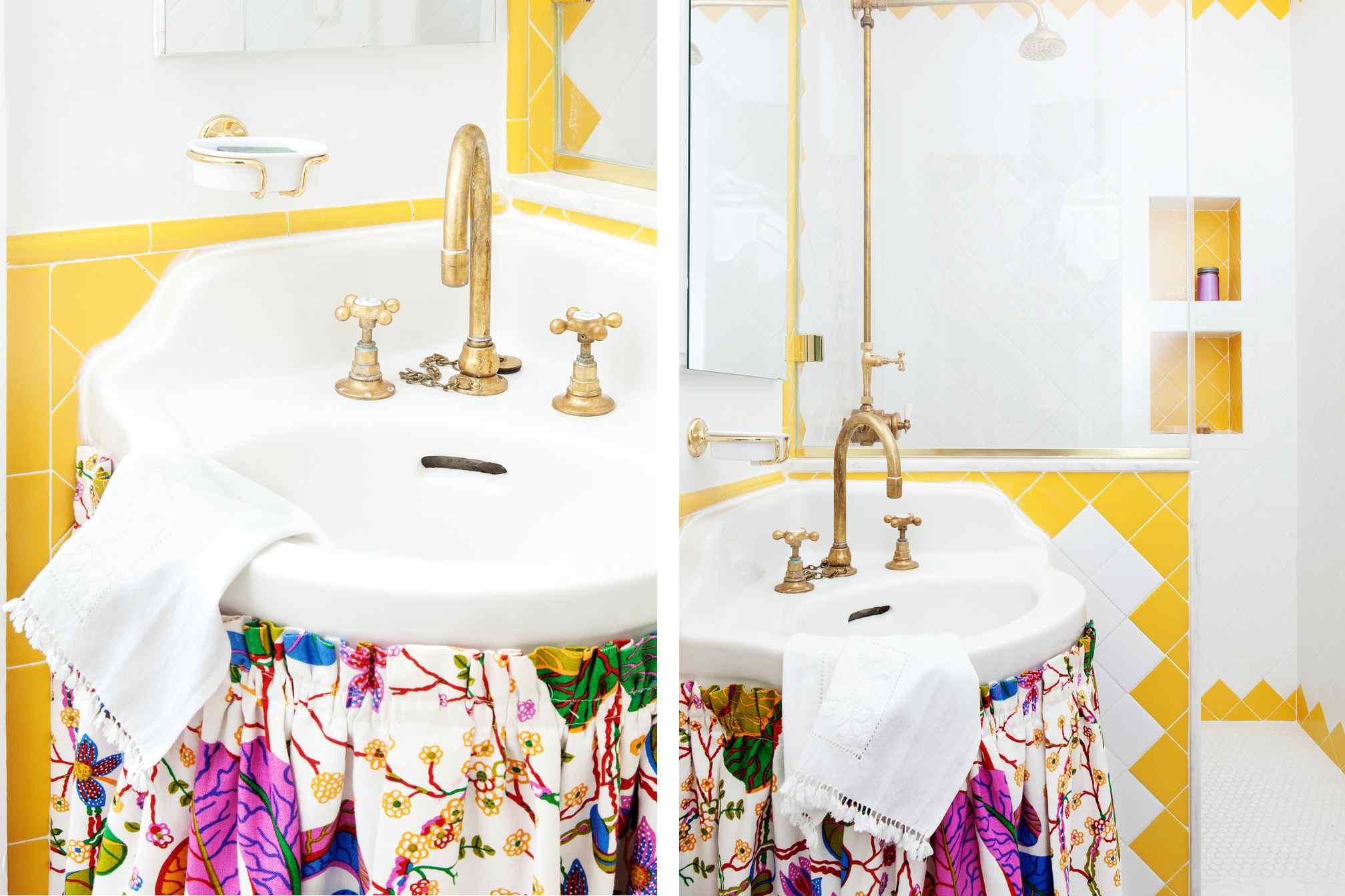 Stylish-Bathroom-Sink-Skirt