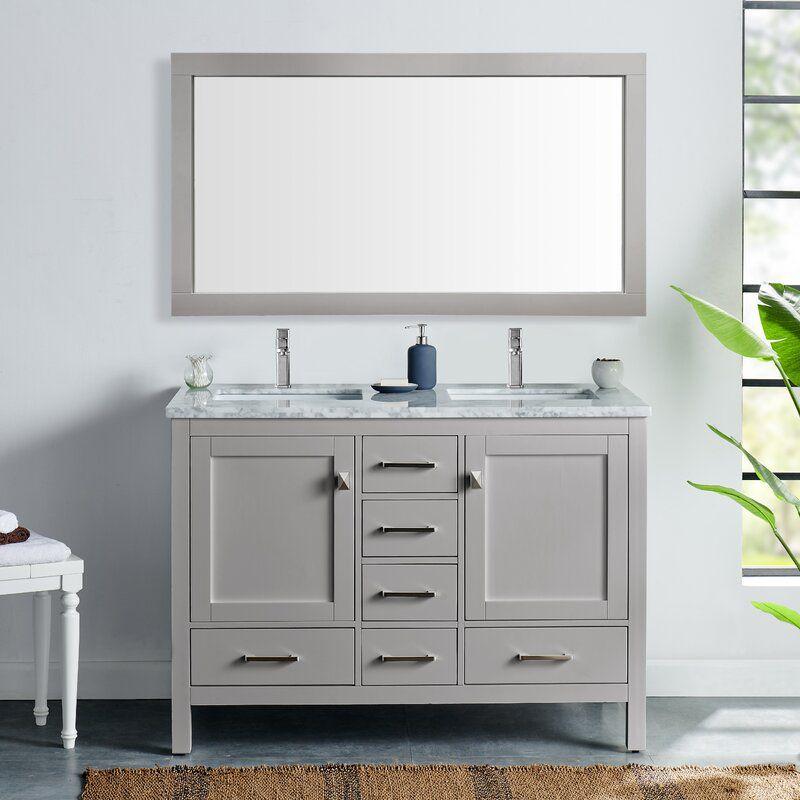 "48"" Double Bathroom Vanity"