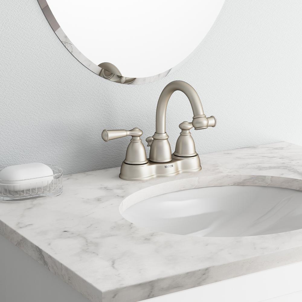 Best Overall Moen Banbury 2 Handle Bathroom Faucet