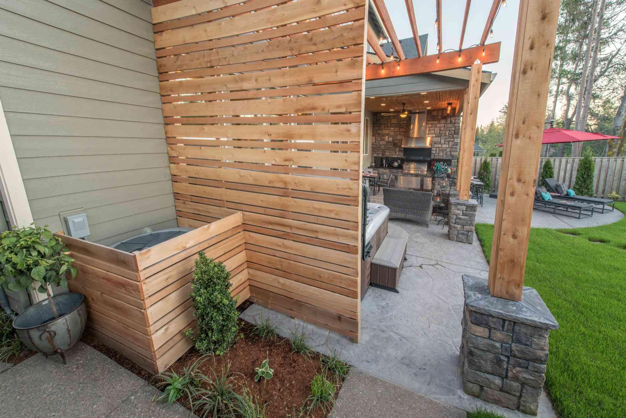ideas de patio lateral
