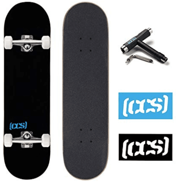 Natural KICKTAIL LONGBOARD Skateboard COMPLETE 9 in x 43 in