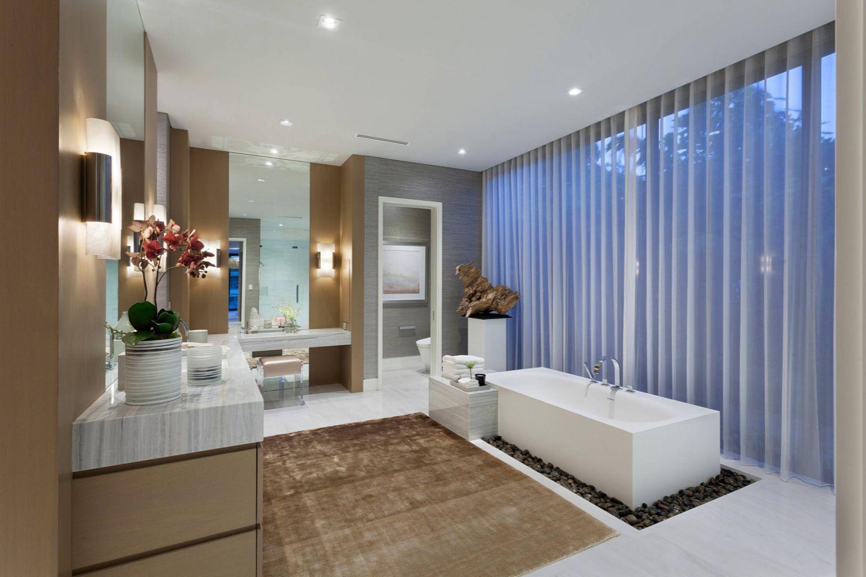 diseño de baño de lujo