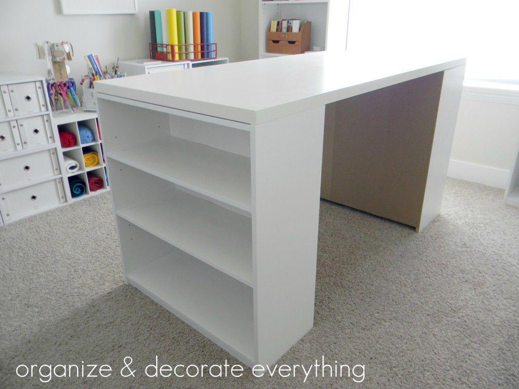 Sala de manualidades ideas de mesa