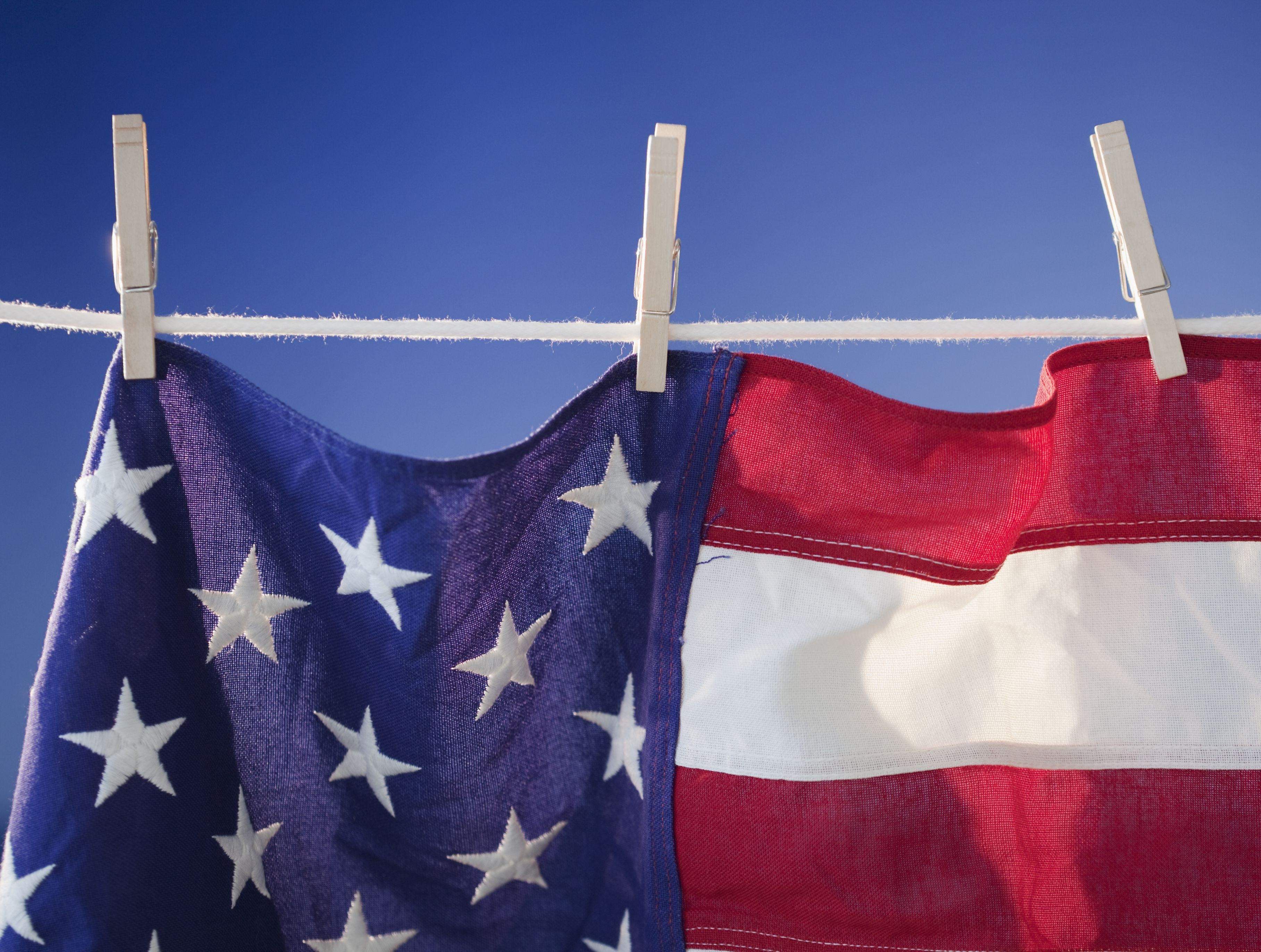 How To Wash Or Clean The American Flag