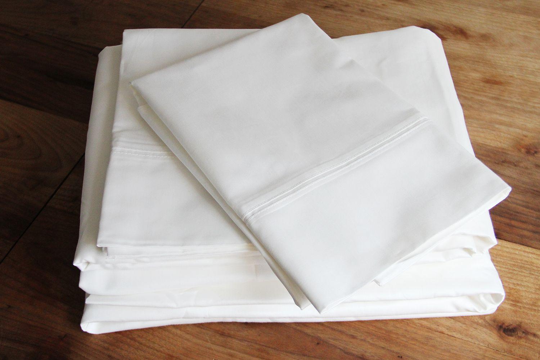 Pottery Barn 700-Thread-Count Sateen Sheet Set