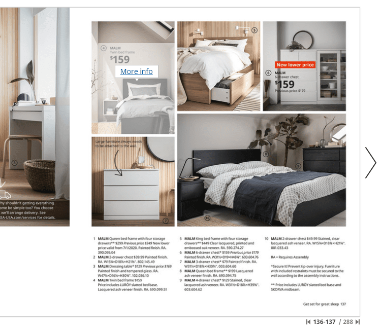 More info link in the IKEA 2021 digital catalog