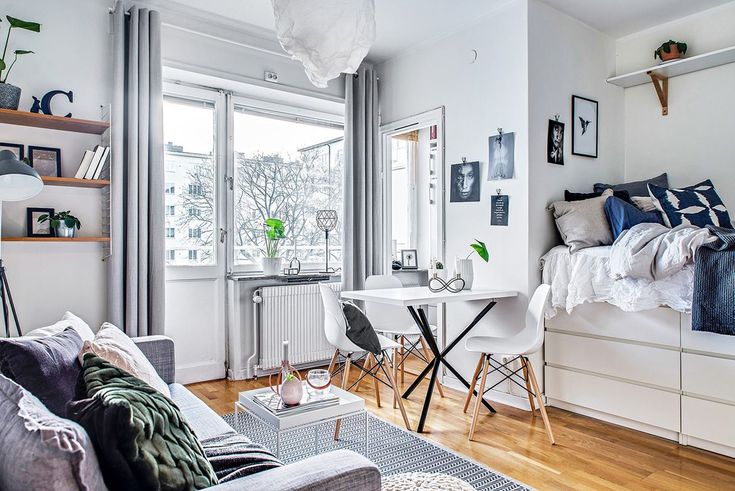 48 Perfect Studio Apartment Layouts That Work Adorable Apartment Interior Design Property