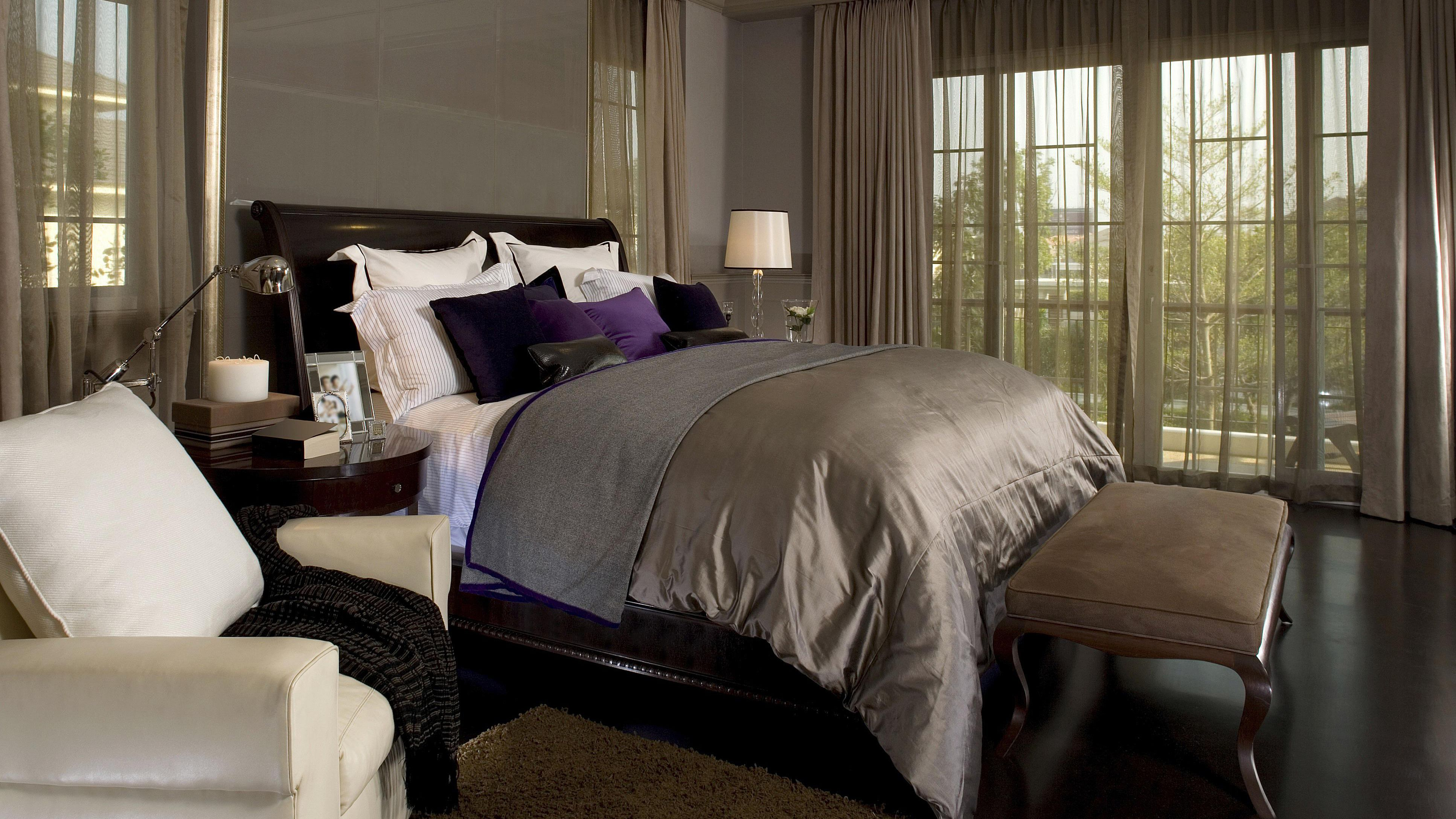 Ideas For Decorating The Bedroom With Brown