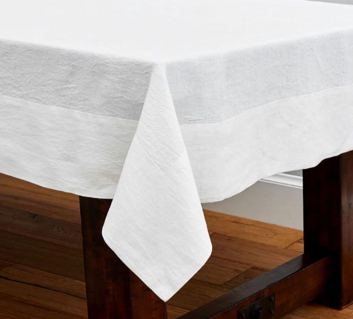 Mason Oversized Linen Tablecloth