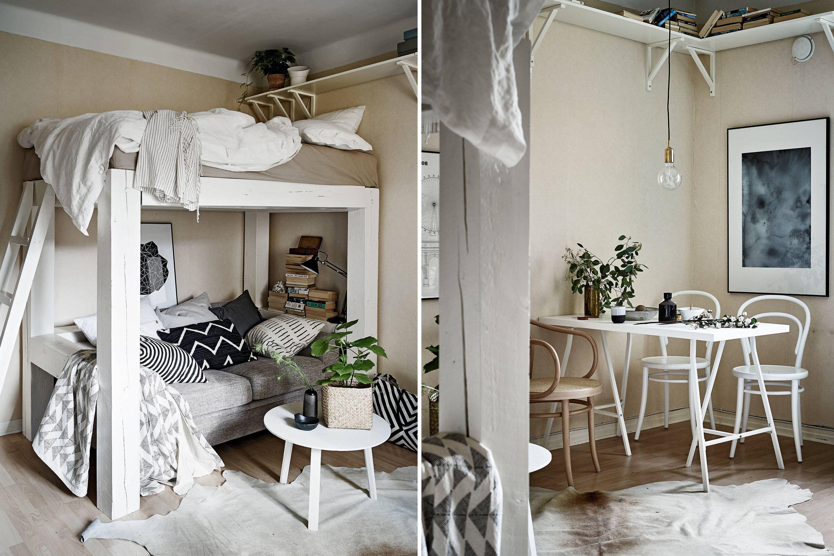 Prettify clunky loft bed