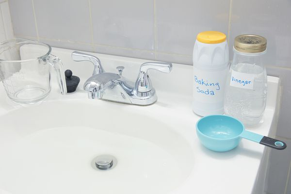 materials for making homemade drain cleaner