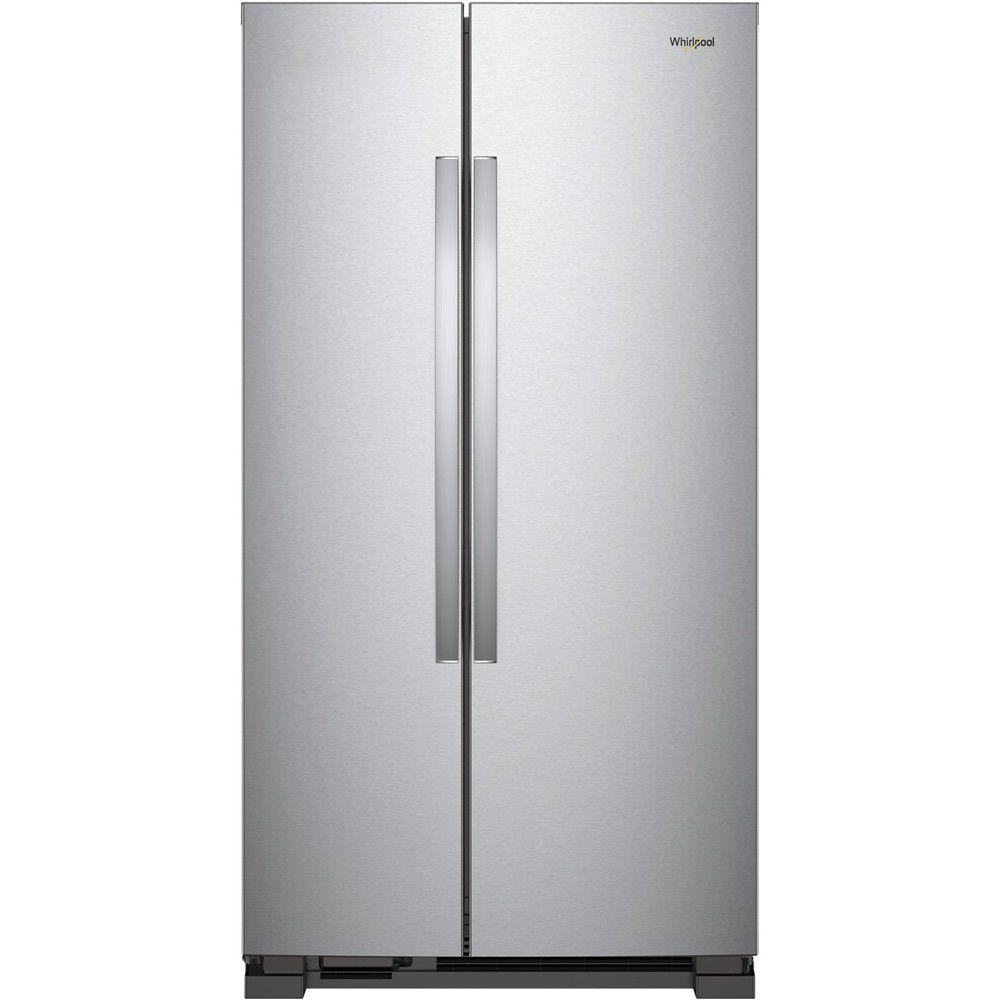 Whirlpool - 25.1 Cu. Ft. Side-by-Side Refrigerator