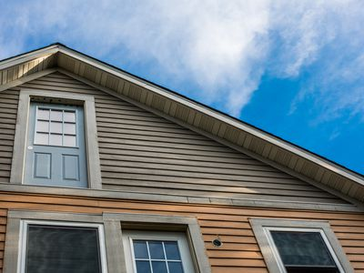 House wood siding