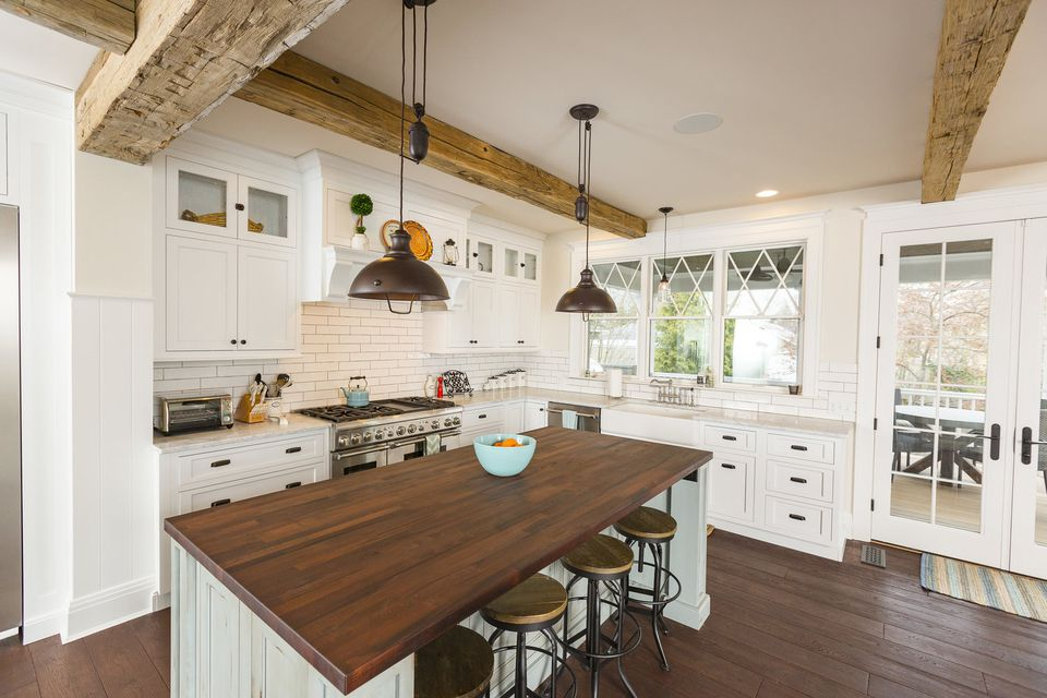 Bauscher Construction Farmhouse Kitchen Remodel