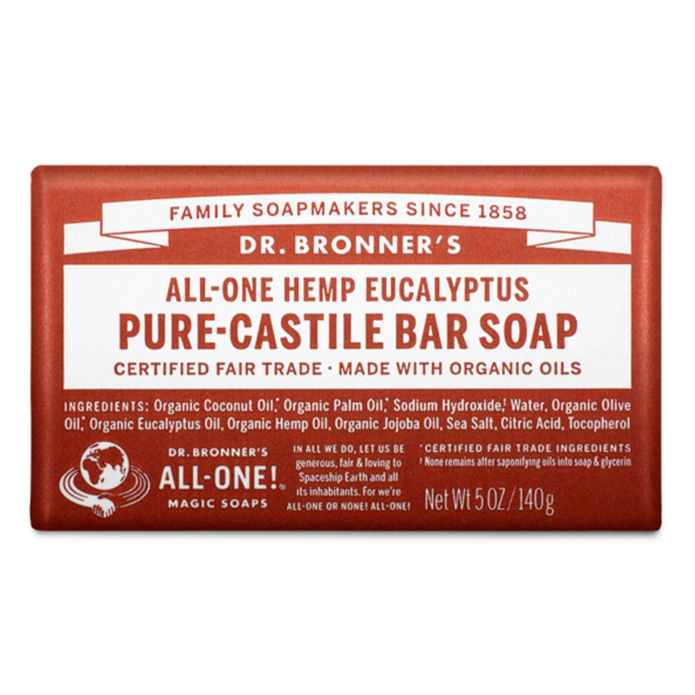 Dr. Bronners Pure Castile Bar Soap