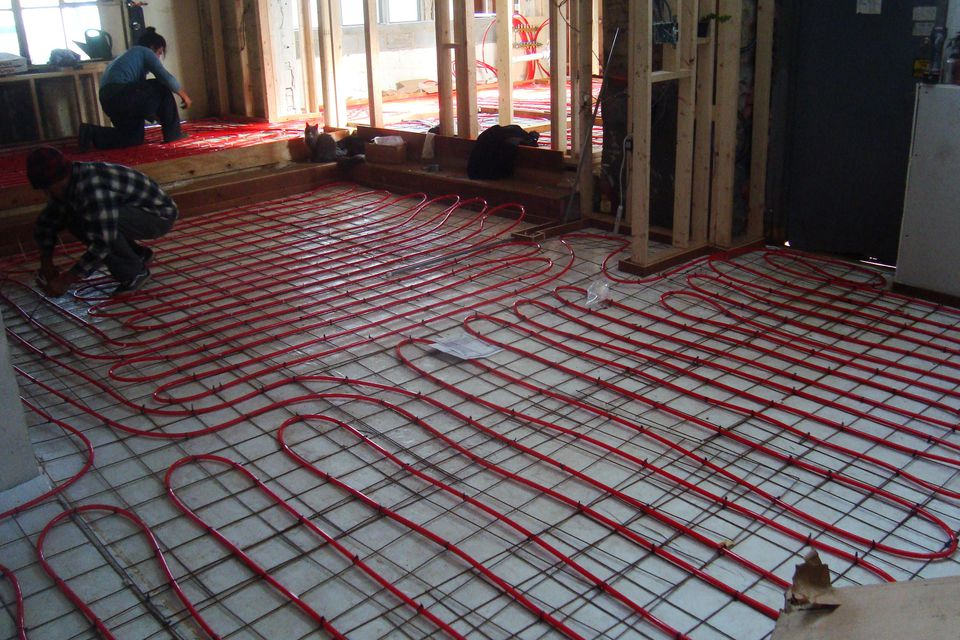 Electric Radiant Floor Heating The Basics
